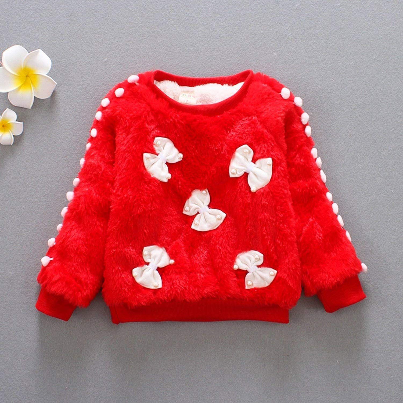 Girls Sweater Children Girls Cotton Velvet Cardigan Clothing Thicken Sweat Shirts, #Ad #Cotton, #Velvet, #Children, #Girls