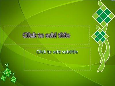 Ketupat Powerpoint Templates Free Powerpoint Templates Download Powerpoint Templates Templates