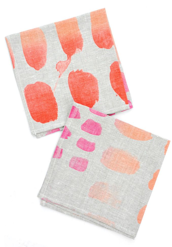 Palette Swatch Napkin Set
