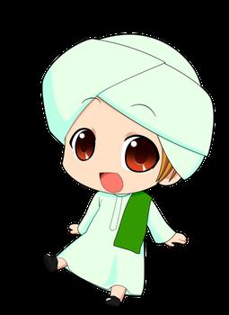 Chibi Muslimin 2 By Taj92 Islamic Cartoon Anime Muslim Cartoon Clip Art