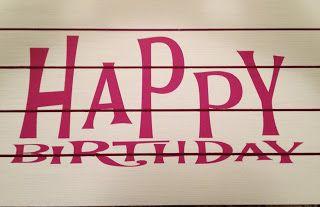 The Wood Station Happy Birthday Slat Sign Wood Happy Birthday Happy