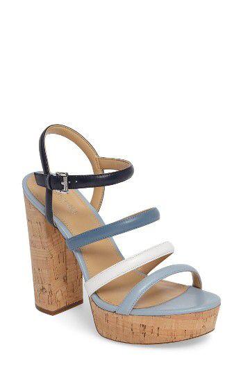5c28a4dd4af MICHAEL Michael Kors MICHAEL Michael Kors Nantucket Platform Sandal (Women)  available at  Nordstrom