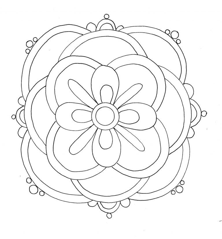Free Printable Rangoli Coloring Pages For Kids Geometric Coloring Pages Coloring Pages Coloring Pages For Kids