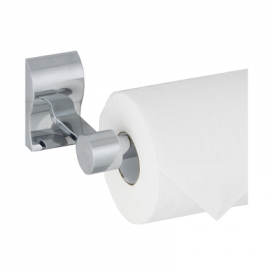 """Abby Euro TP Holder in Polished Chrome and Satin Nickel.   Height 3"""", Width 7"""", Projection 3 1/2""""    http://myfinishingtouches.com/index.php?l=product_detail&p=2081"""