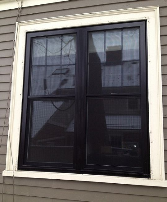Exterior Home Painting Cost: Image Result For Exterior Black Painted Window Frames