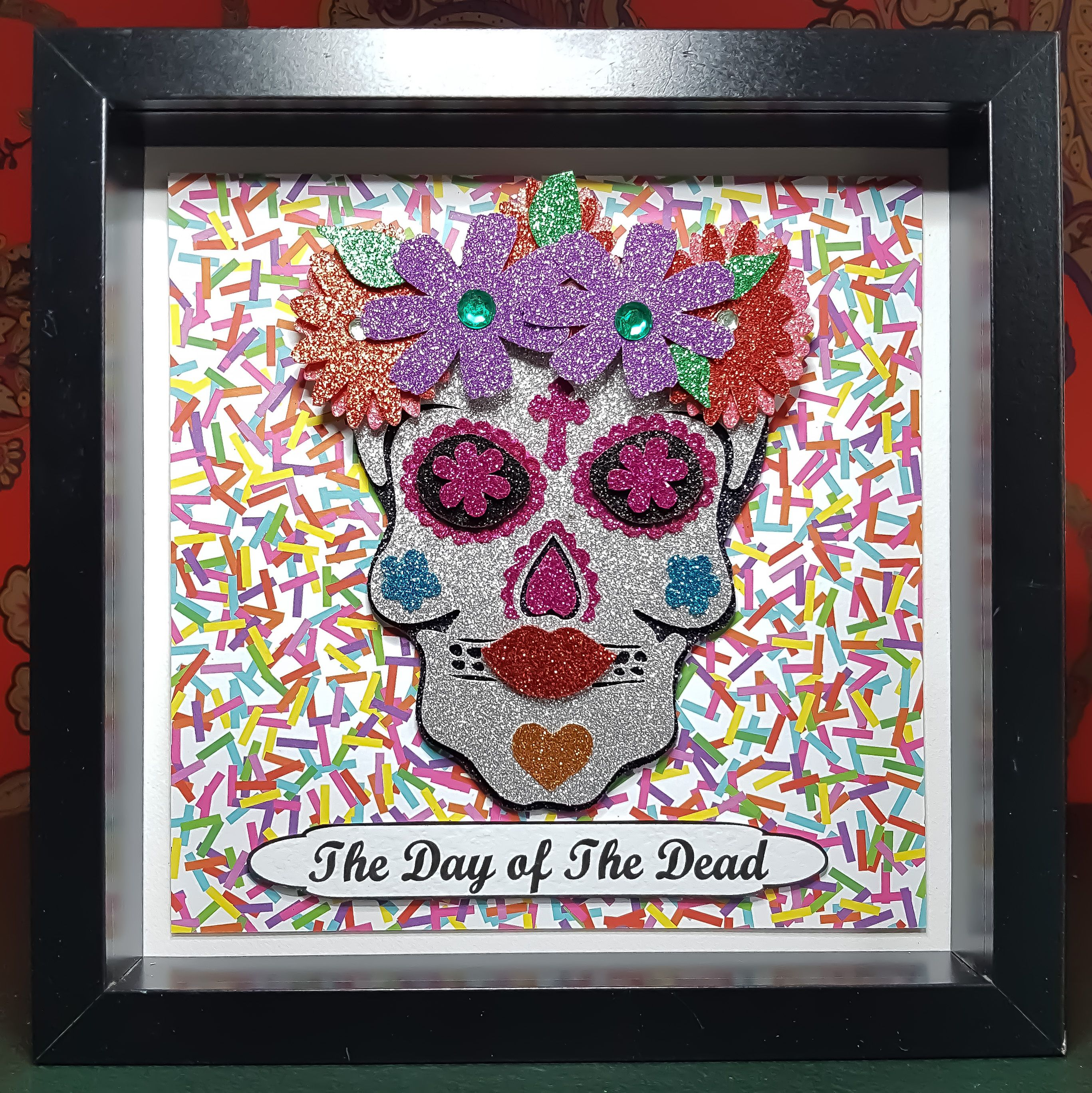 Día De Los Muertos The Day Of The Dead Female Sugar Skull Die