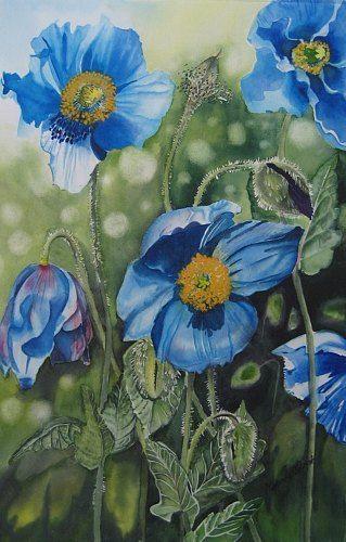 Watercolor 50x70 cm stephanie zobrist silk painting pinterest watercolor 50x70 cm stephanie zobrist mightylinksfo
