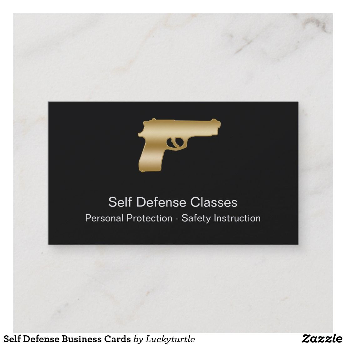 Self Defense Business Cards (With images