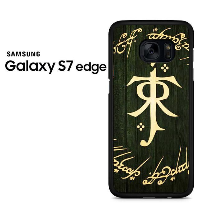 The Lord Of The Rings Tolkien Symbol Samsung Galaxy S7 Edge Case