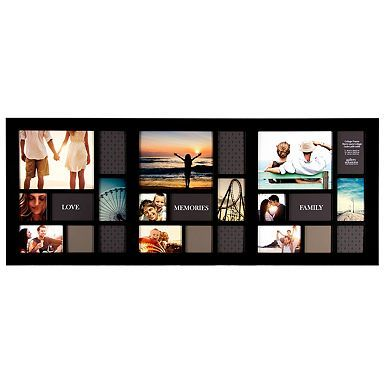 Long Black 10-Opening Collage Frame | Long black and Collage