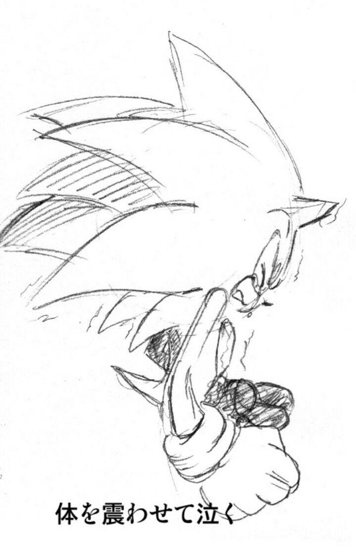 Sonic cry by bbpopococo on deviantart