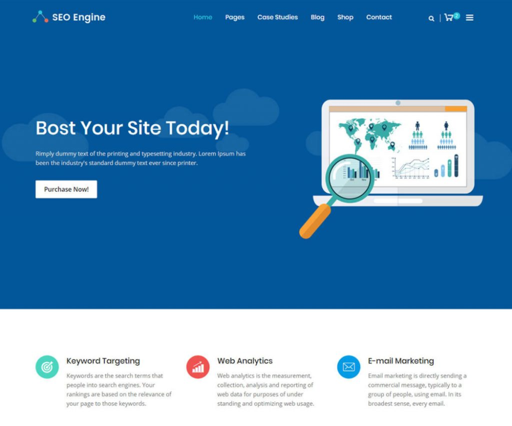 15 Best Software Company Website Templates 2020 Radiustheme In 2020 Technology Website Templates Website Template Seo Website