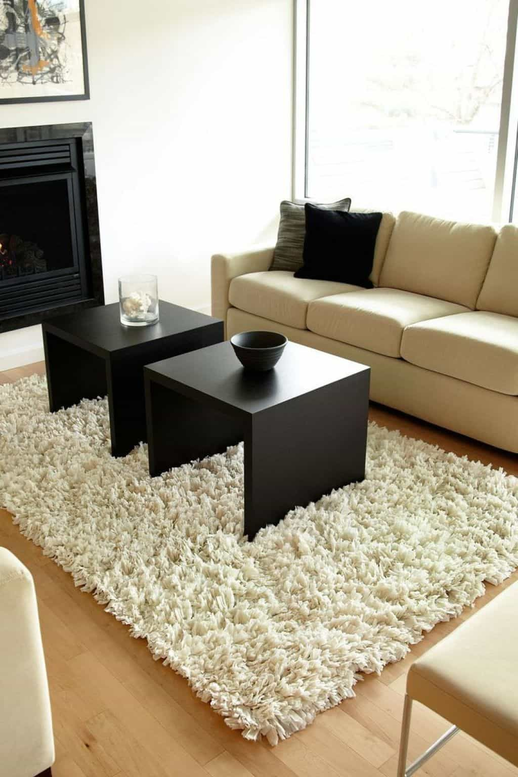 Cleaning Your Shag Rugs Shag rug, Clean shag rug, White