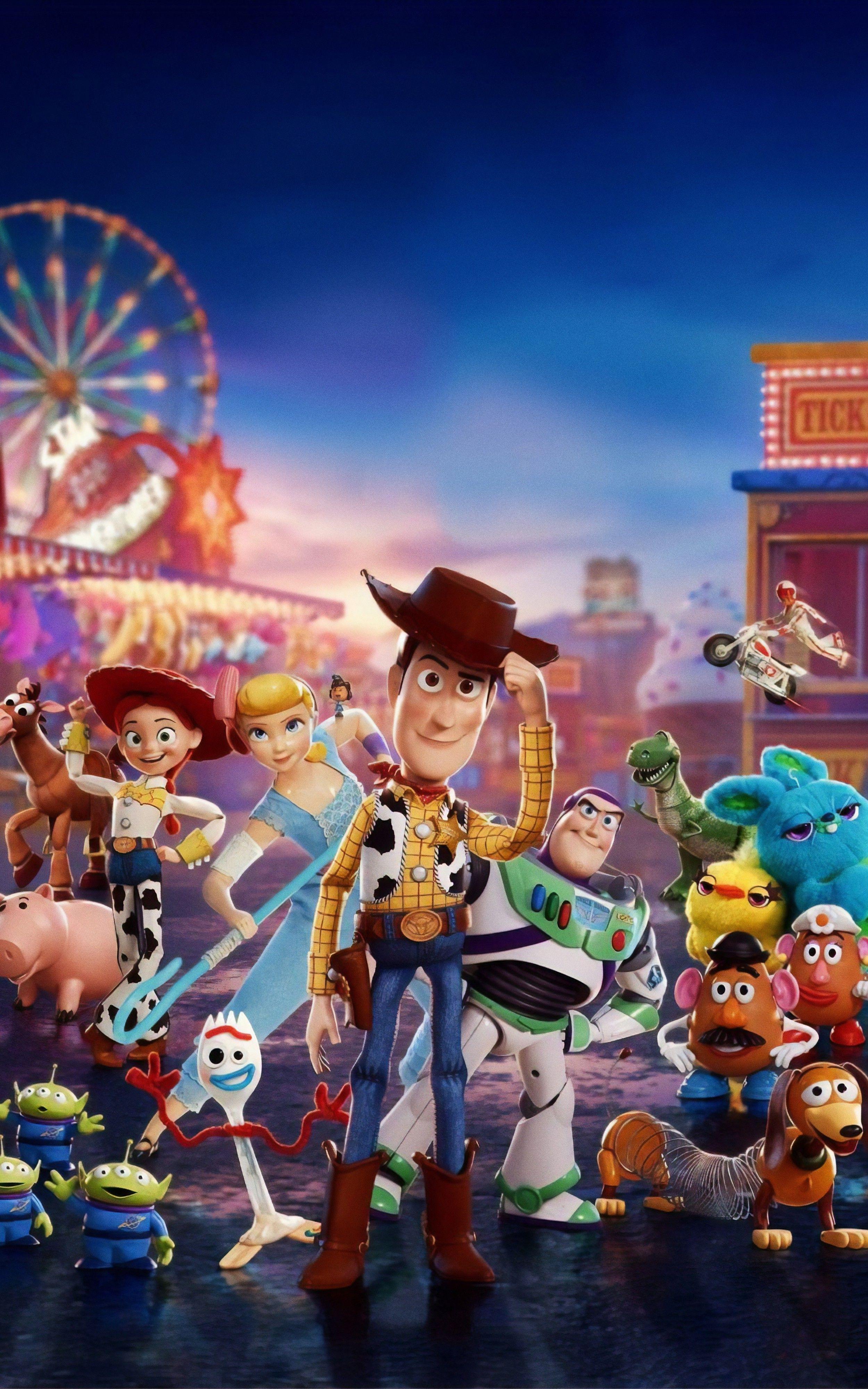Toy story 4 Wallpaper Fondos de pantalla de películas