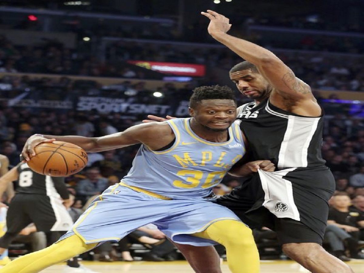Kuzma scores 30, Lakers beat Spurs 122112 in overtime
