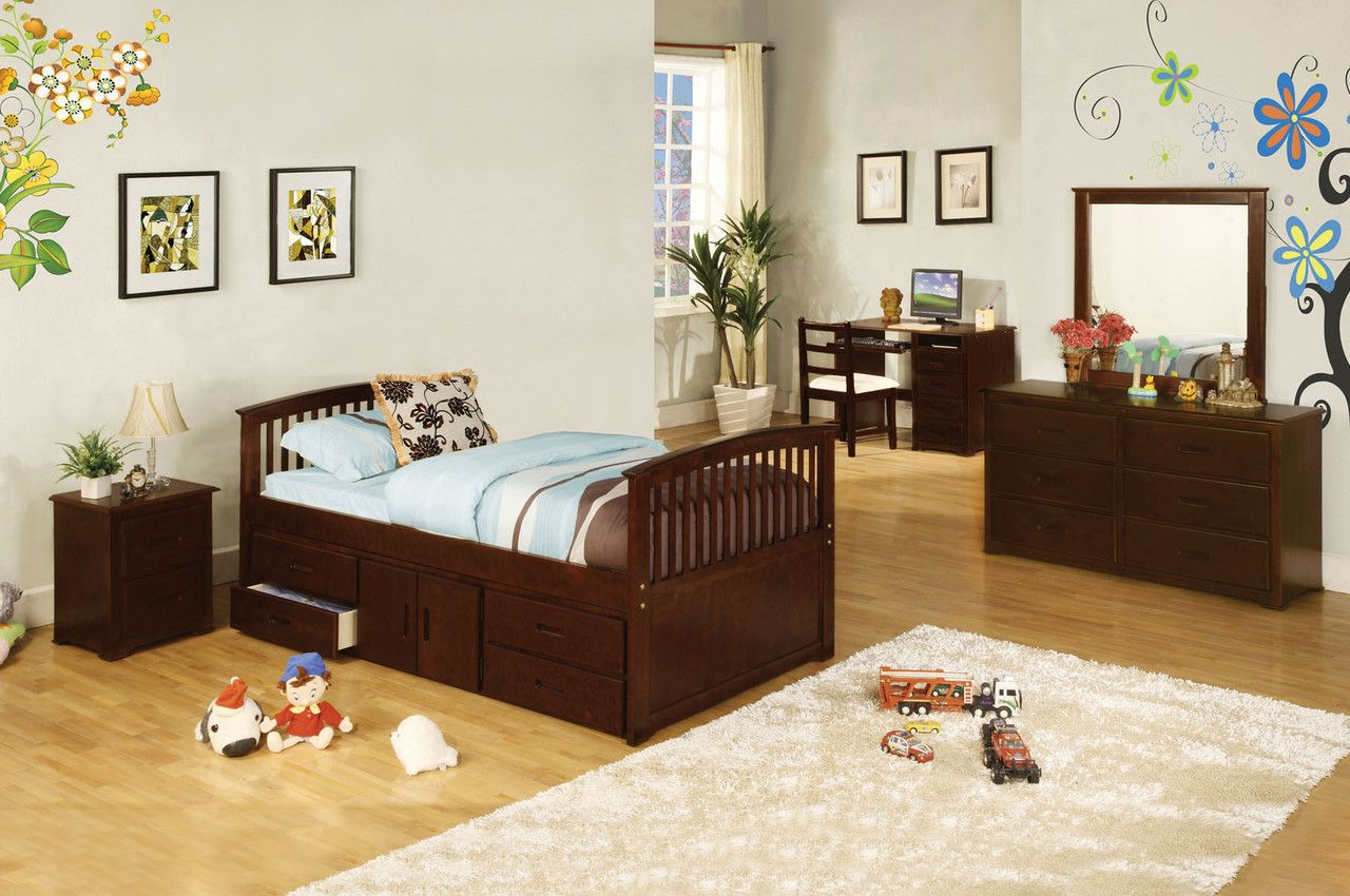 Furniture Of America Caballero Twin Bed CM7032-524 For $351