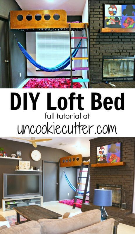 If you  ve been looking around at loft beds for kids and are having trouble finding the perfect thing why not build your own details on how  built my also to woodworking rh pinterest