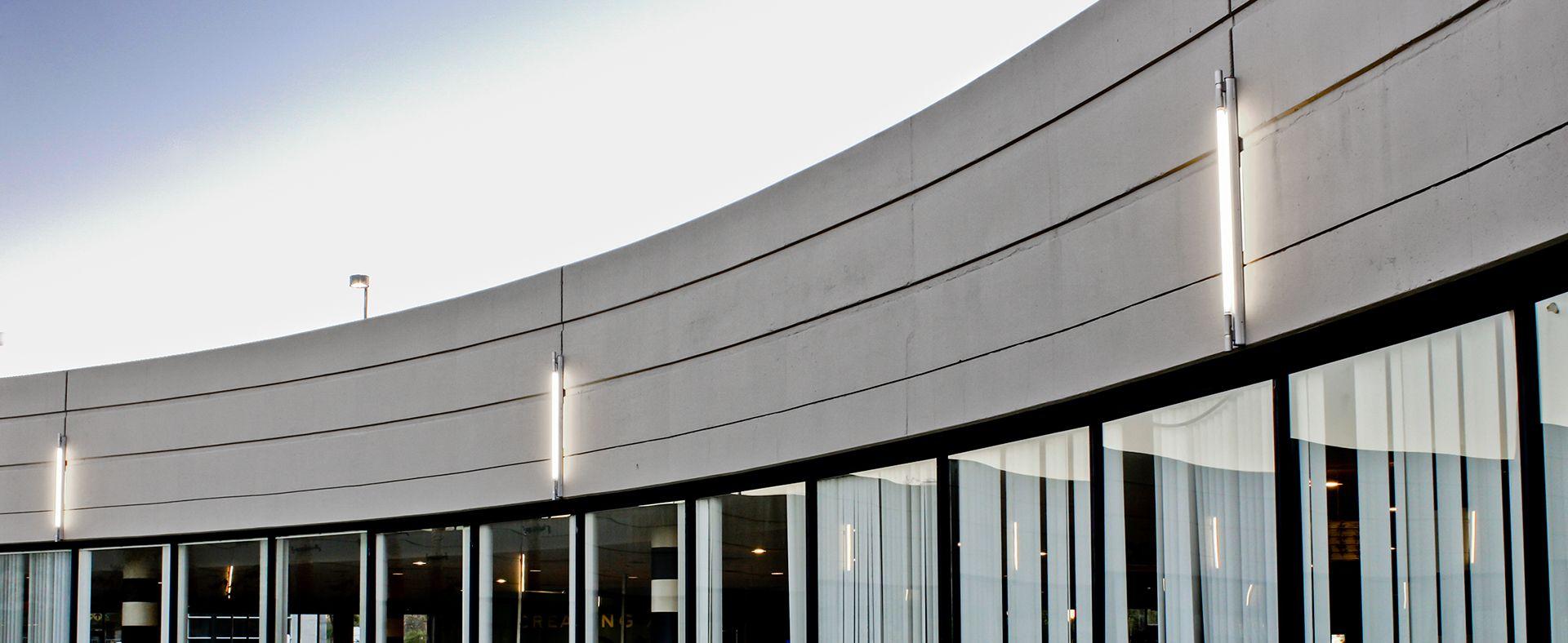 Brace Exterior Linear Fixture SPI Lighting | Exterior ...
