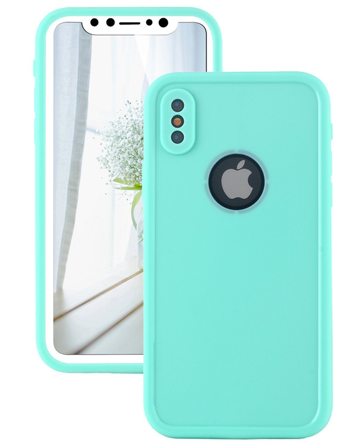 size 40 9d543 452fd iPhone X Waterproof Case, Lontect Slim Thin Light Dirt/Dust Proof ...