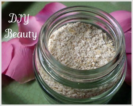 Natural Diy Skin Soothing Oat And Yogurt Mask 2 Tablespoons Of Oats