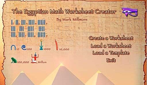 Egyptian Mathematics Numbers Hieroglyphs And Math Problems For Kids Egypt Lessons Egyptian Math Problems For Kids
