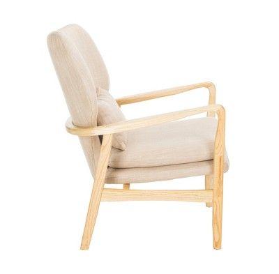 Best Tarly Accent Chair Beige Safavieh In 2020 Oversized 400 x 300