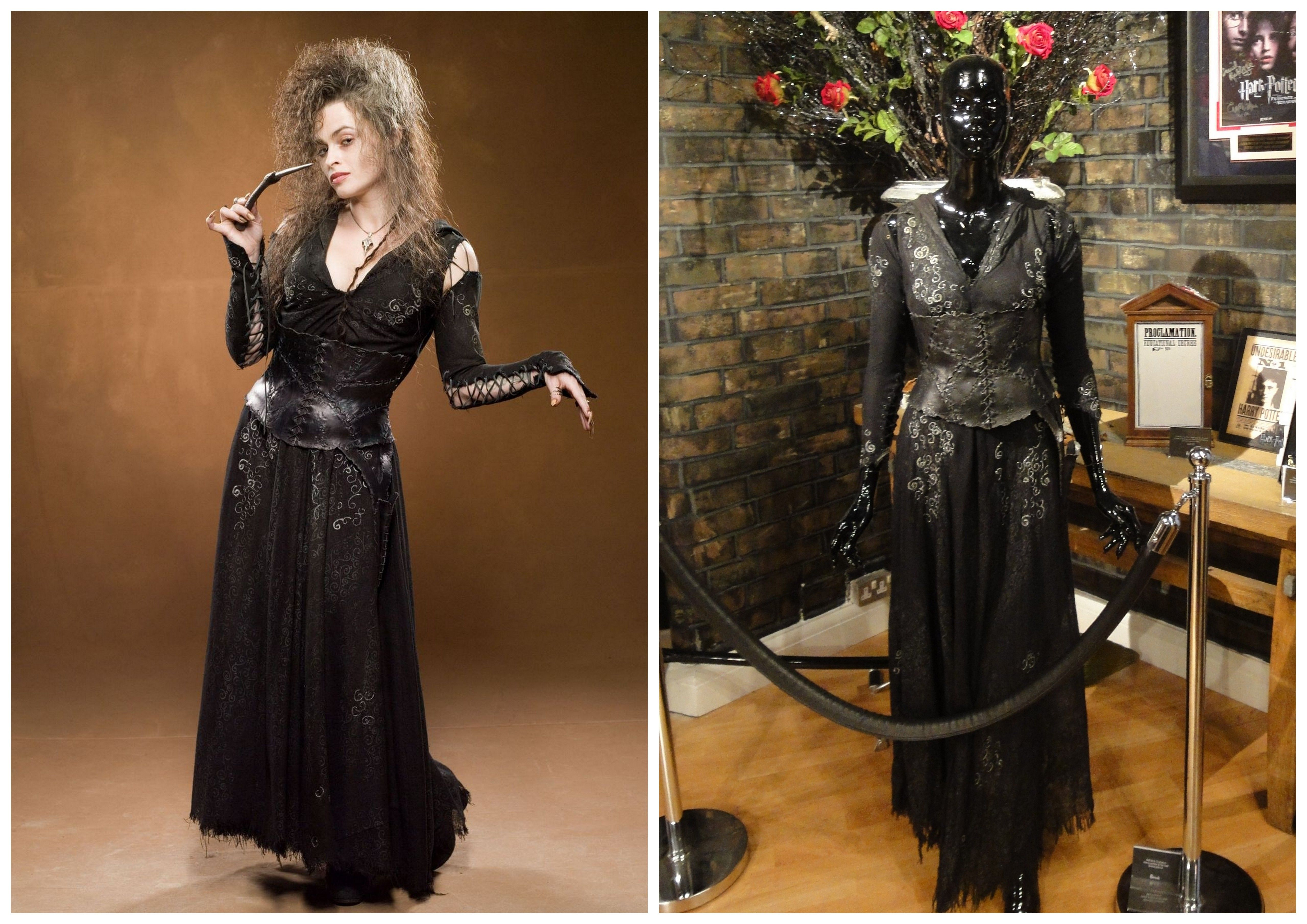 Helena Bonham Carter Harry Potter Costume Google Search Harry Potter Costume Bellatrix Lestrange Cosplay Harry Potter Bellatrix Lestrange