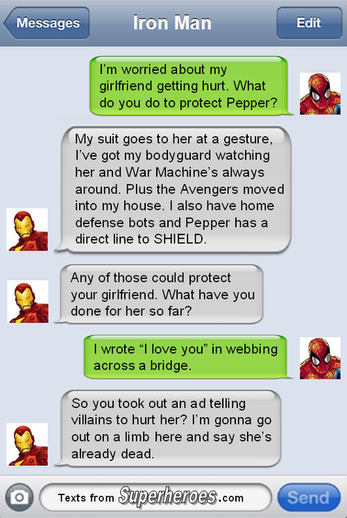 Tony really is a futurist after all.  http://textsfromsuperheroes.com/