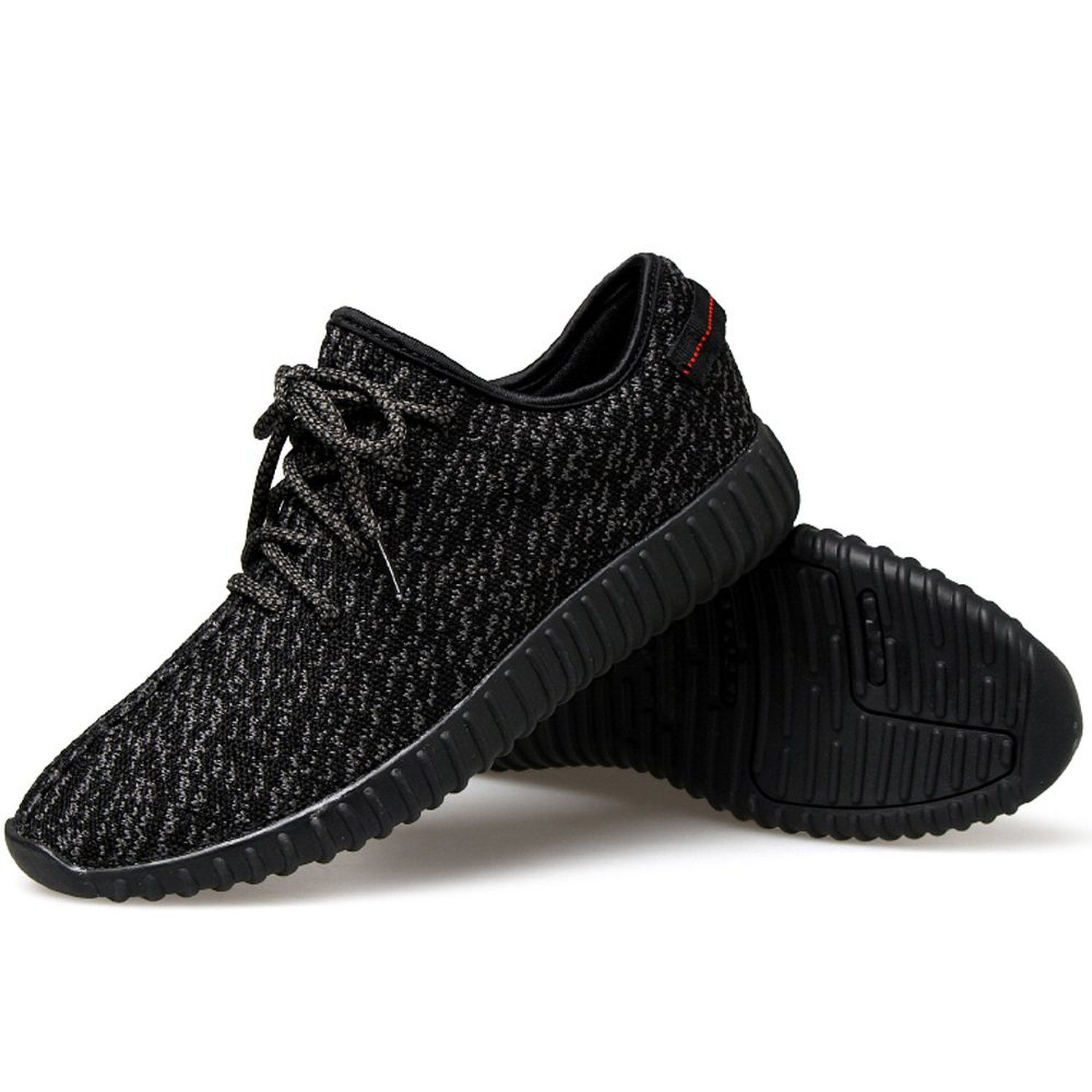 Shoes Mens Casual Shoes Outdoor Exercise Sneakers Low-Top Lace-up Shoes Running Shoes (Color : Black Mirror Size : 41)