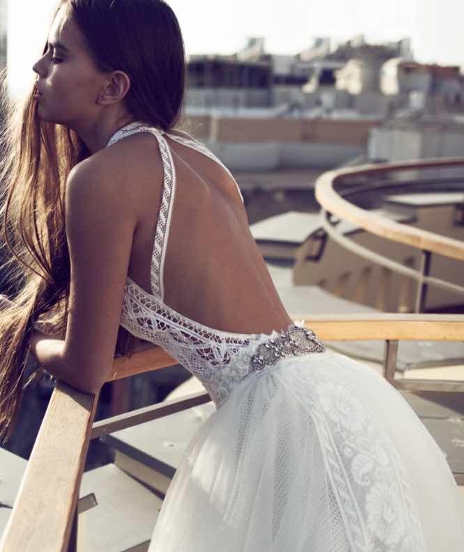 Sexy Elegant Zahavit Tshuba Wedding Dresses