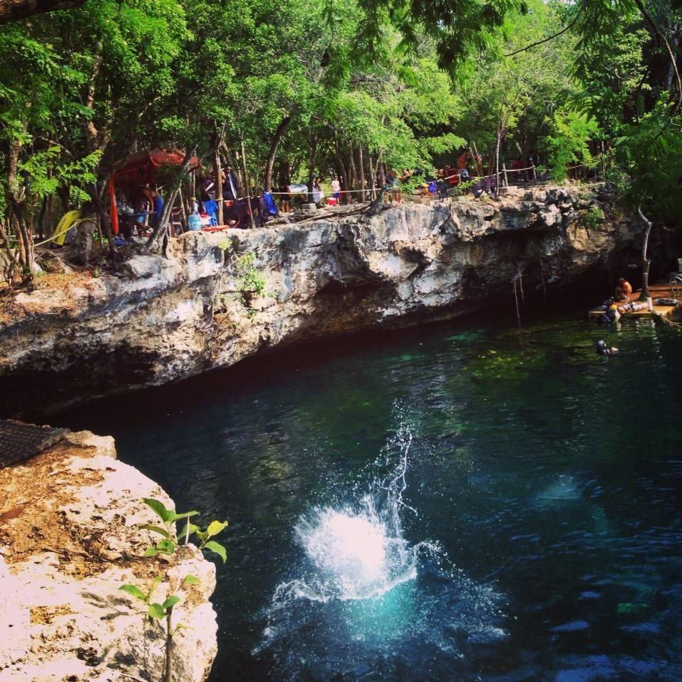 Cenote eden playa del carmen cenote jardin de eden for Jardin xel ha