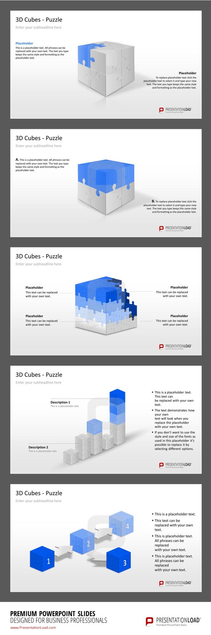 PowerPoint Diagramm Vorlage http://www.presentationload.de ...