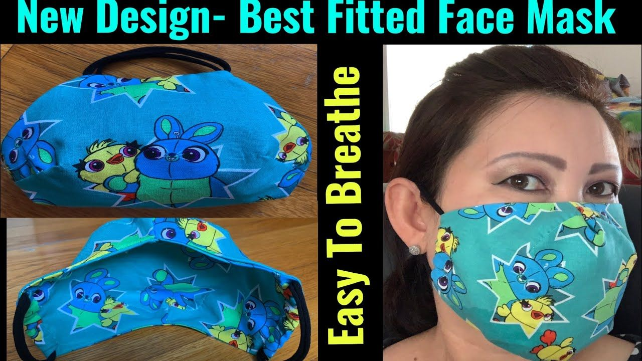 How To Make Breathable Face Mask With Filter Pocket Easy