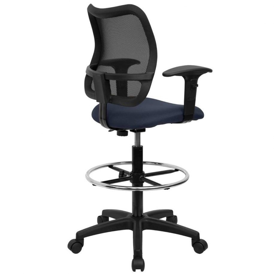 Tall Office Chair for Standing Desk - Executive Home Office