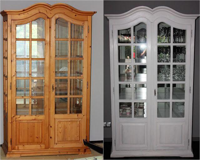 Landhaus Style, lifestyle, Schrank mit Kreidefarbe