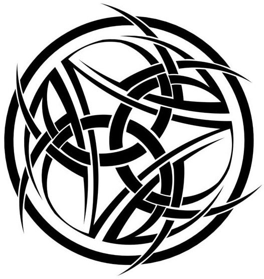 celtic circle tattoo arcane circle by snoopydoo on