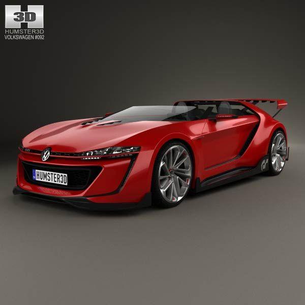 Volkswagen GTI Roadster 2014 3d model from humster3d.com. Price: $75