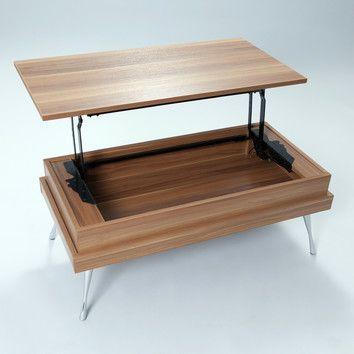 Matrix Matrix Koryo Coffee Table With Lift Top Coffee Table Walnut Coffee Table Rectangular Coffee Table