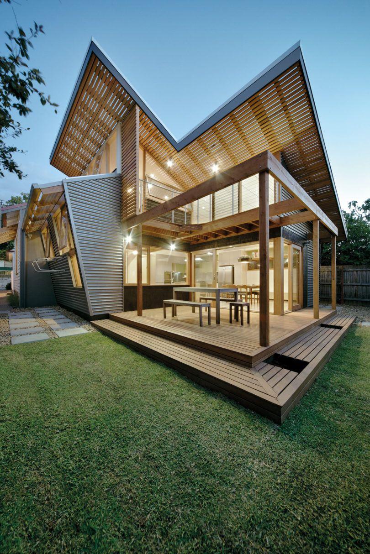 Nest house в Мельбурне Архитектура Интерьер Дизайн pinterest