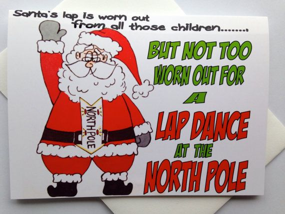 funny adult christmas card dirty christmas card by smartblondes