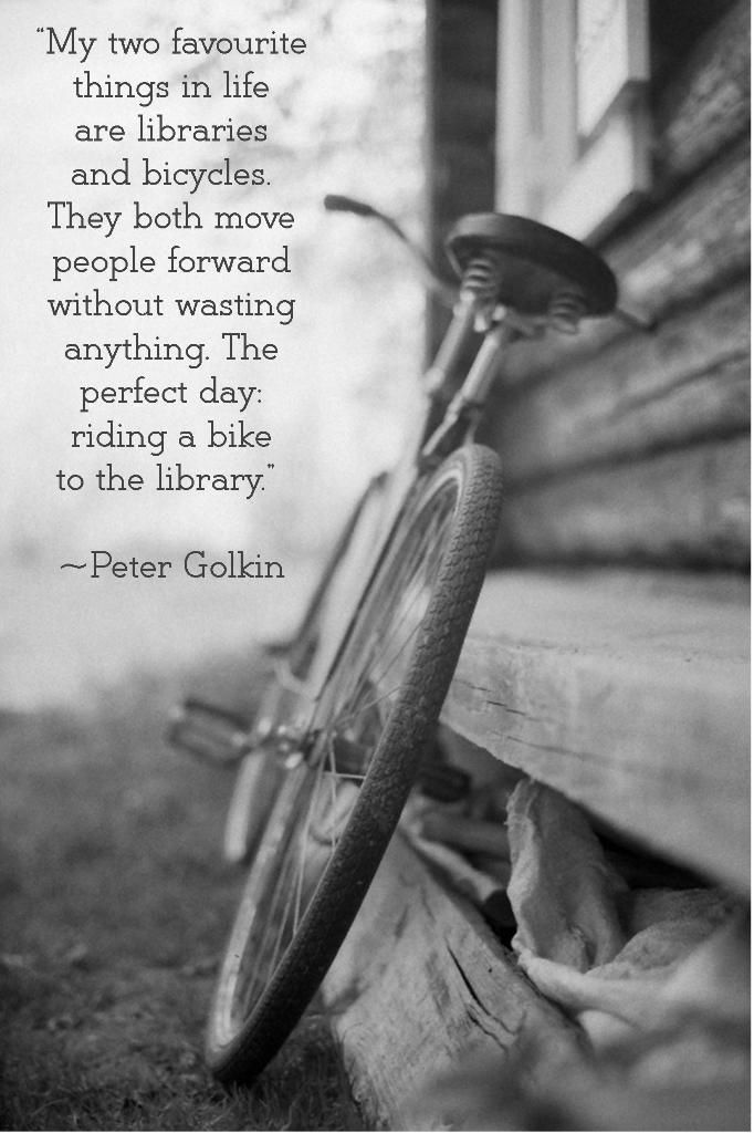 I Can Ride My Bike To The Library Mountain Biking Quotes Bike