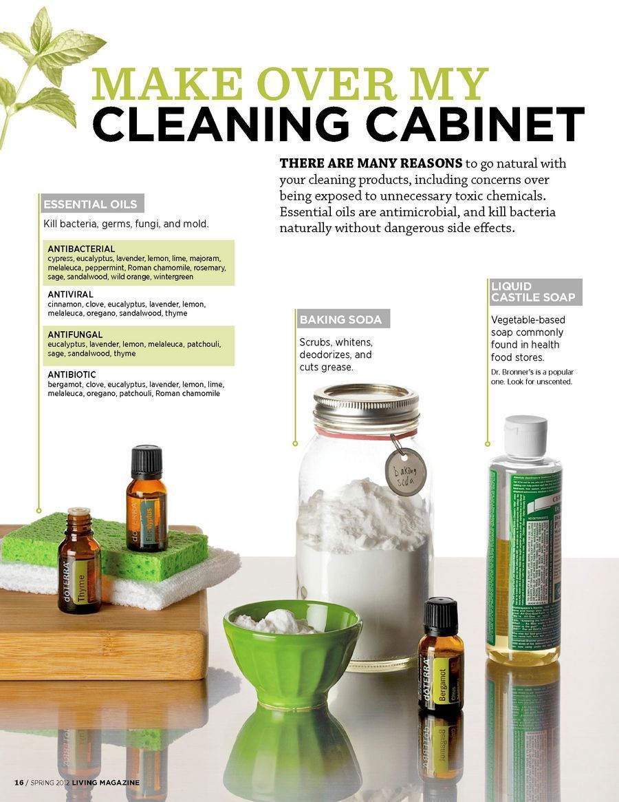 Makeover Essentials Makeup Reviews: Making Over My Cleaning Cabinet DoTERRA LIVING Magazine