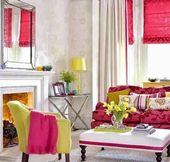 Imagen deco y arquitectura pinterest decorar tu casa for Decoracion casa rojo