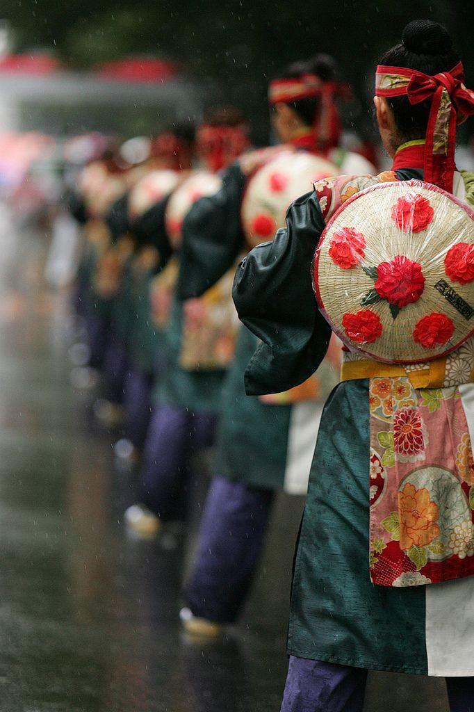 Yosakoi fes dancers