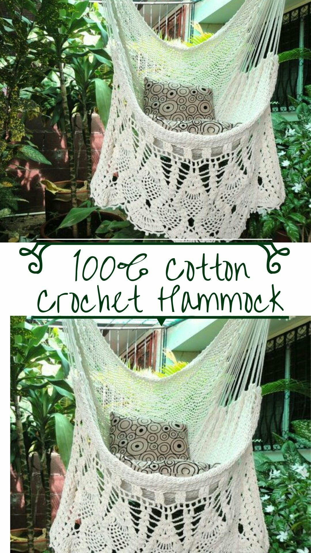 I Am Obsessed With This Gorgeous Crochet Hammock Chair This Store