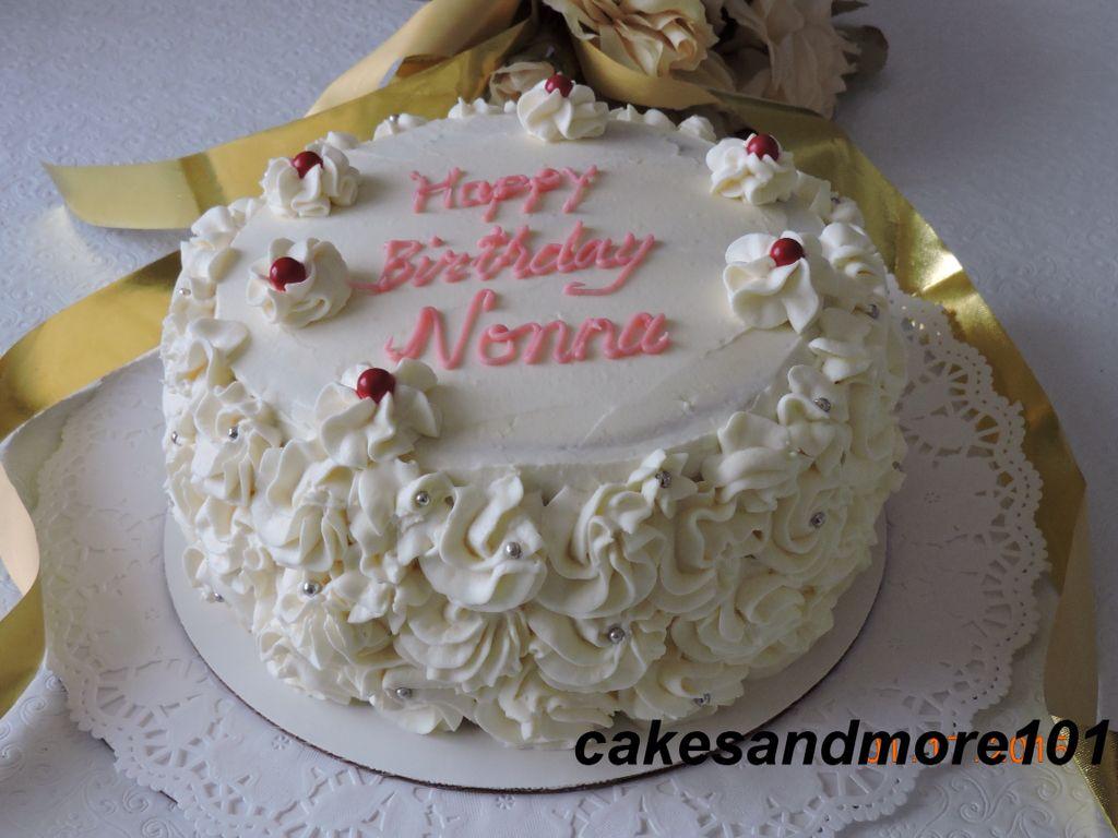 Happy 77th Birthday Mom Made With Basic Sponge Cake Filling