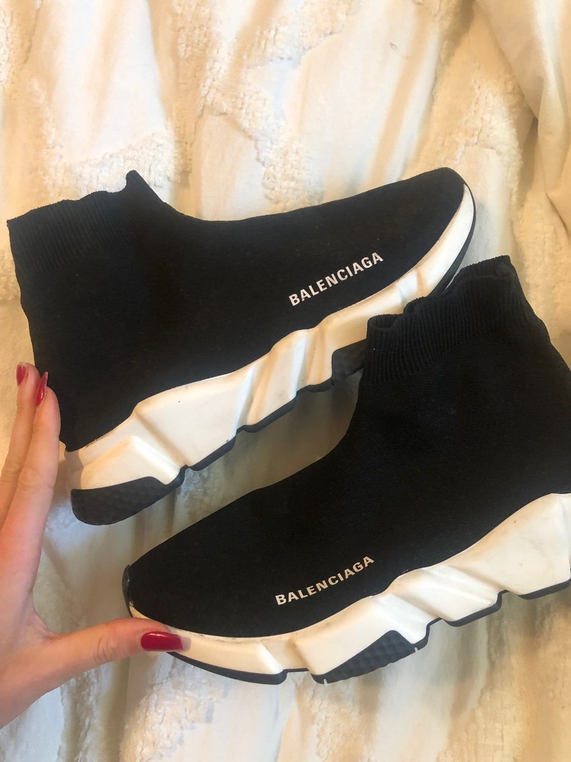 AUTHENTIC balenciaga speed trainers