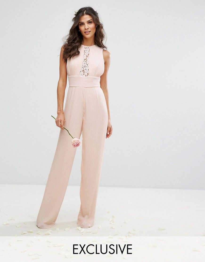 19g051 Tfnc D21 Kombinezon Elegancki L 7286589328 Oficjalne Archiwum Allegro Fashion Blush Cocktail Dress Jumpsuits For Women