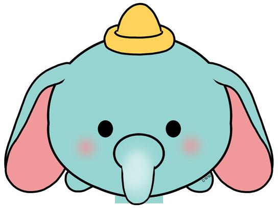 Disney Tsum Tsum Para Colorear Dumbo: Disney Tsum Tsum Dumbo
