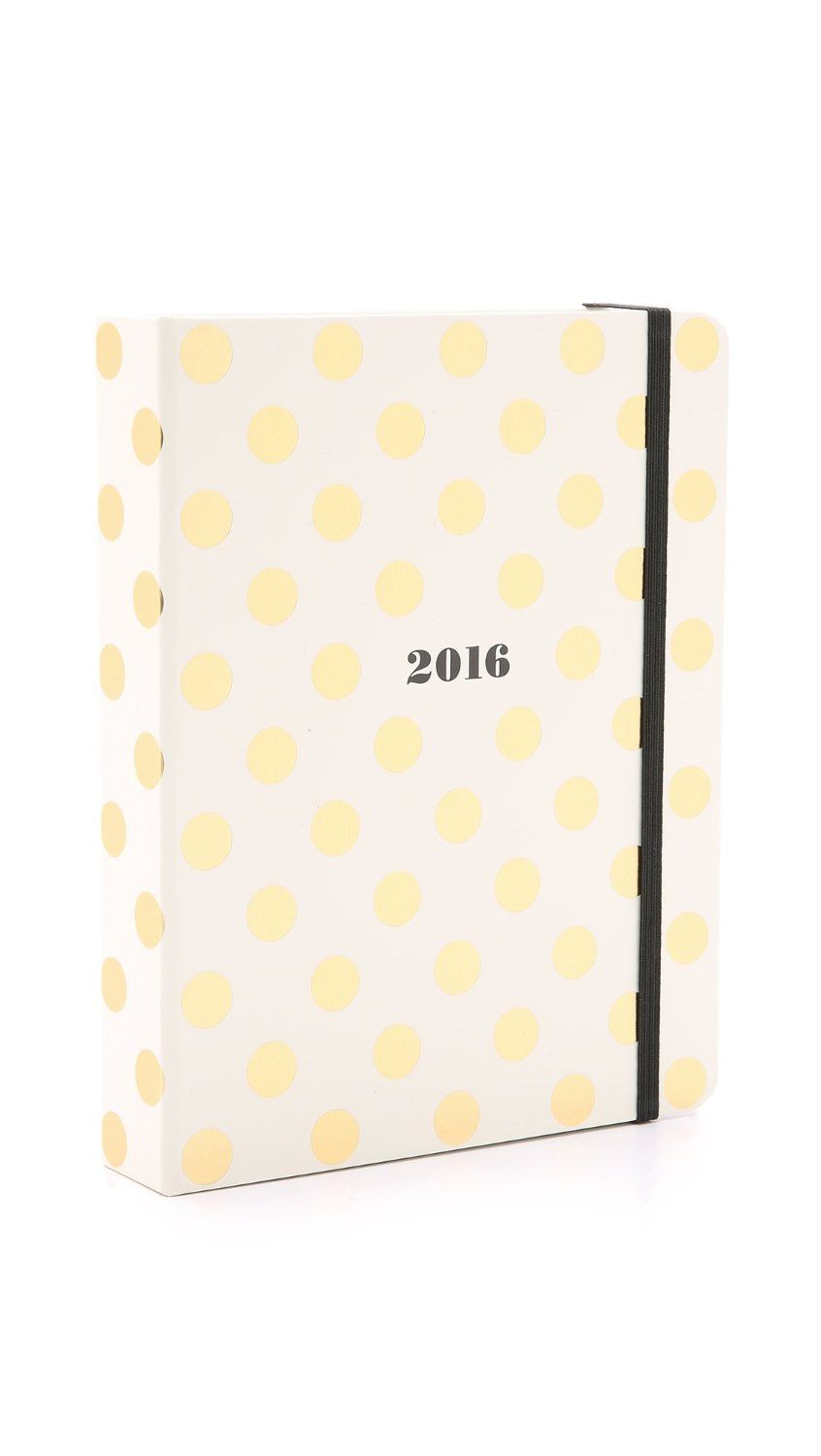 Kate Spade 2016 17 Month Medium Agenda Gold Dots